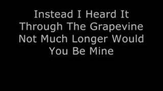I Heard It Through The Grapevine Marvin Gaye