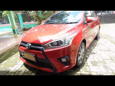 Toyota All New Yaris 2014 Type G M/T Red Mica Metalic ( Indonesia )