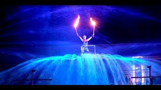 Feuershow Furious Flames of Water - S.W.A.P. Sabrina Wolfram ART PROJECT