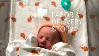My FAST Labor and Delivery Story *emotional*