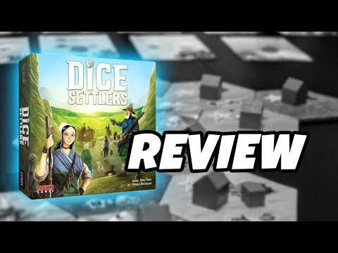 What's in the box...DICE SETTLERS