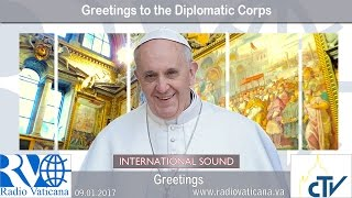 2017.01.09 Greetings to the Diplomatic Corps