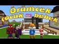 Örümcek Çocuk ve Joker Minecraft'ta Örümcek Bebek ve Sincap Nerede Çizgi Film Gibi
