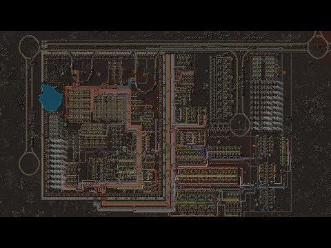 Factorio Timelapse - Planet DOOM
