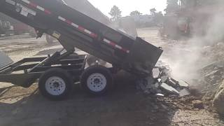 PJ Dump trailer | how to use - specs |