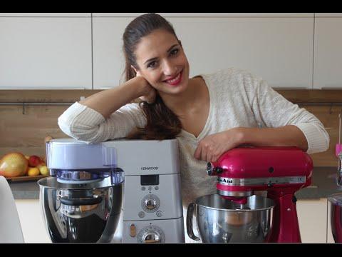 Küchenmaschinen-Check: Kitchenaid vs. Kenwood vs. Thermomix / Tipps zum Kauf