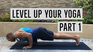 How to Intensify Pushups (Chaturanga) to get MAD Strong in Yoga Class or Calisthenics