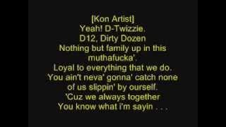 D12   Loyalty ft  Obie Trice + LYRICS