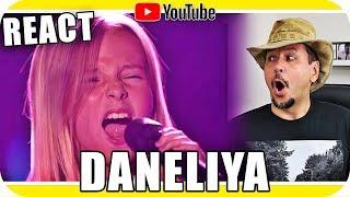 DANELIYA TULYESHOVA Cantando e Arrepiando - Marcio Guerra Canto Reagindo React Reação