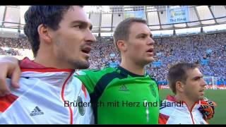 National Anthem of Germany FINAL 2014 (with Subtitles)