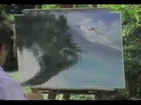 William Bill Alexander happy painter