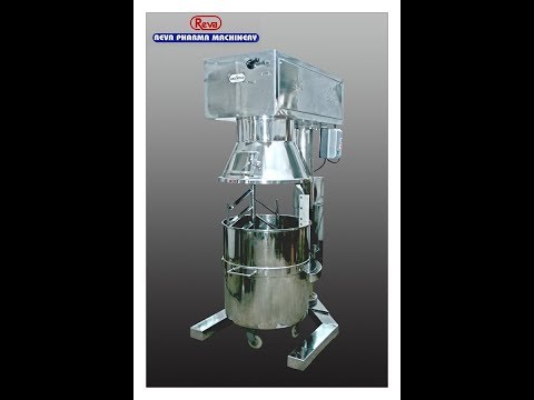 Reva Spiral Mixer Machine