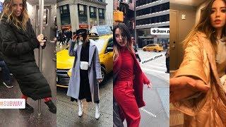 НАДЯ НА ПОКАЗЕ МОД В НЬЮ-ЙОРКЕ/New-York Fashion Week 2018