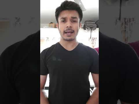 Audition video - Ahmar Zaman