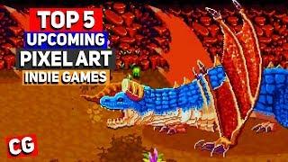 Top 5 Upcoming Pixel Art Indie Games - Feb 2019 (KS)