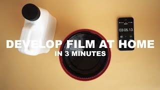 The Easiest Way to Develop Film at Home in 3 Minutes - Cinestill Df96 Review