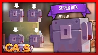 Super Box Opening! C.A.T.S Crash Arena Turbo Stars - Biggest Super Box Opening Possible!!