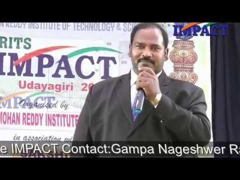 Memory Techniques| JSP Raj |TELUGU IMPACT Udayagiri 2017