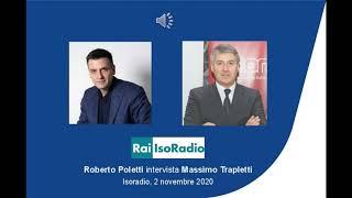 RAI Isoradio – Intervista a Massimo Trapletti