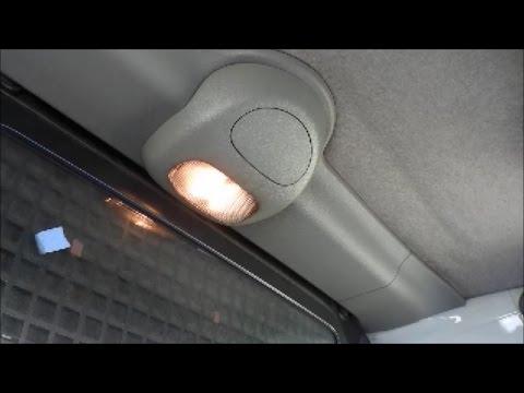 Arreglar luch interior del coche