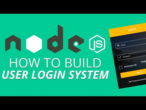 How to Build User Login System Using Nodejs | Nodejs \u0026 its Installation