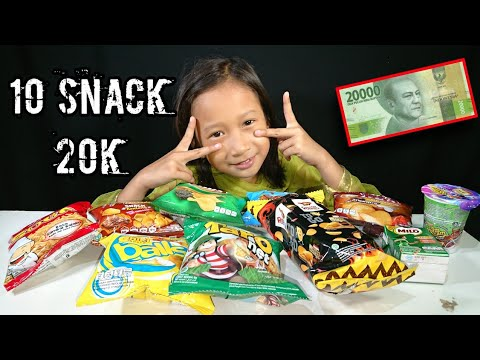 Icip Snack Hasil Challenge 20k 10 Snack Murah