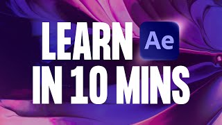 Learn After Effects in 10 Minutes! Beginner Tutorial