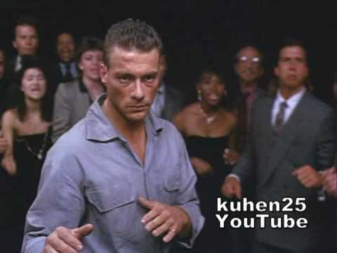 Van Damme underground fight (funny knockout)