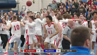 Highlights: St. Bernard 51, Woodstock 45 in ECC Div. 2 final