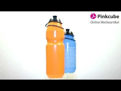 Trinkflasche TACX Source 500ml und 750ml bedrucken - Pinkcube.de