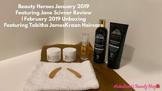 Beauty Heroes January 2019 Featuring Jane Scivner Review | February 2019 Unboxing