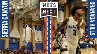 Bronny makes 1st start in Sierra Canyon home opener - Sierra Canyon (CA) vs Granada (CA) Basketball