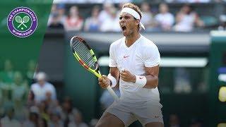 Rafael Nadal in the semi-finals after epic Juan Martin Del Potro clash | Wimbledon 2018
