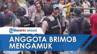 Oknum Anggota Brimob 'Mengamuk' Tak Mau Bayar Tiket Masuk di Salupajaang hingga Lepaskan Tembakan