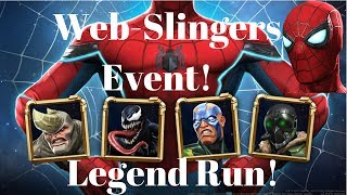 Web-Slingers Event Legend Run!