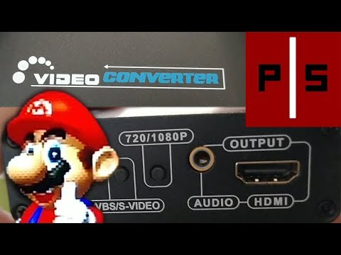 Improve Nintendo 64 Picture Quality by Using S-Video to HDMI