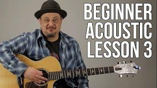 Beginner Acoustic Guitar Lesson 3 - The G Major Chord