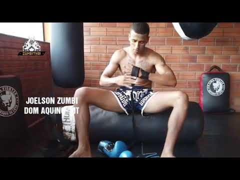 Lutador de Muay Thai Joelson Zumbi estará na Fusion Fight