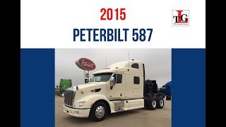 2015 Peterbilt 587 Sleeper Truck Trade Group - Spring 2017
