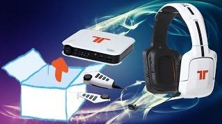 Unboxing -  Tritton PRO+ 5.1 Surround Headset für PS4/PS3, Xbox 360, PC/Mac - Weiss