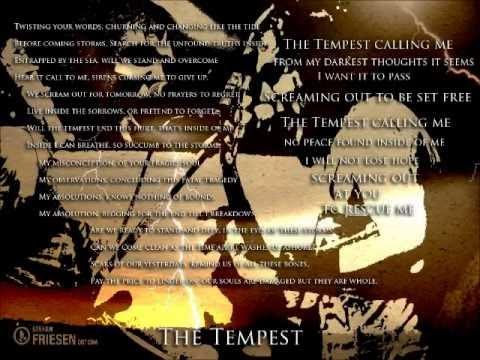 The Tempest - Storms Don't Pass -Lyrics