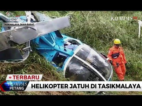 Helikopter Jatuh di Tasikmalaya, Ini Kondisi Pesawatnya