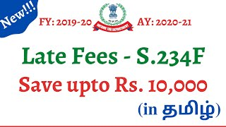 Late Fees under S 234F|| Income Tax Update