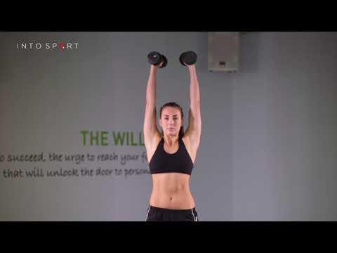 Dumbbell Push Press - Fitness Gym Training