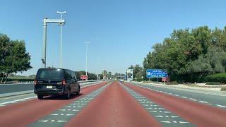 Driving to the #Abudhabi International Airport || Abu dhabi explore | مطار #أبو ظبي الدولي | #UAE