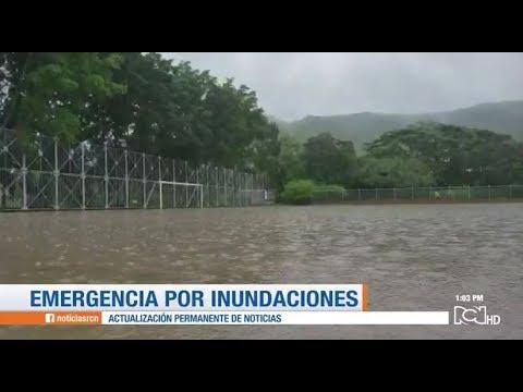 Emergencia por inundaciones en el norte del Valle del Cauca