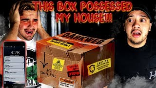 THIS DARK WEB BOX POSSESSED MY HOUSE! Unboxing a $1000 Deep Dark Web Mystery box!