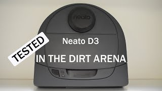 Amazing - Neato D3 Botvac Connected - Dirt Arena Test