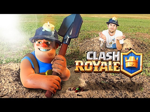 Clash royale new miner deck this things beast
