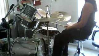 The Absence Riders of the Plague drum cover